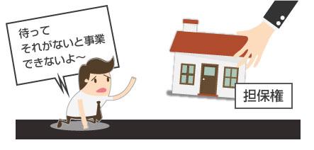 事業で必要な財産を担保権により回収されると困る図-スマホ用