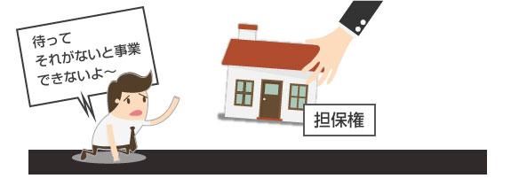 事業で必要な財産を担保権により回収されると困る図-PC用