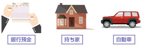 共有財産の例-イラスト